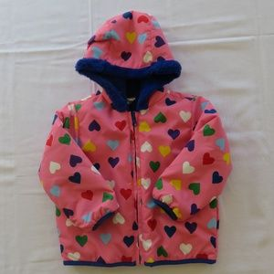 Hanna Andersson Size 90 3T Reversible Coat Jacket